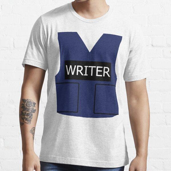 Chaleco de escritor Camiseta esencial