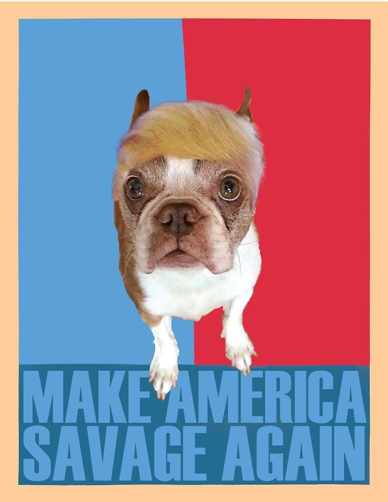 Trump Dog by ZachBurnett