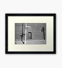 Downtown Brooklyn Framed Print