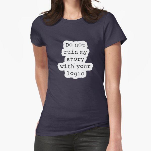 Lo que dijo Richard Castle Camiseta entallada