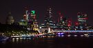 London Skyline from Waterloo Bridge by Cliff Williams