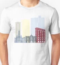 Fort Worth skyline poster Unisex T-Shirt