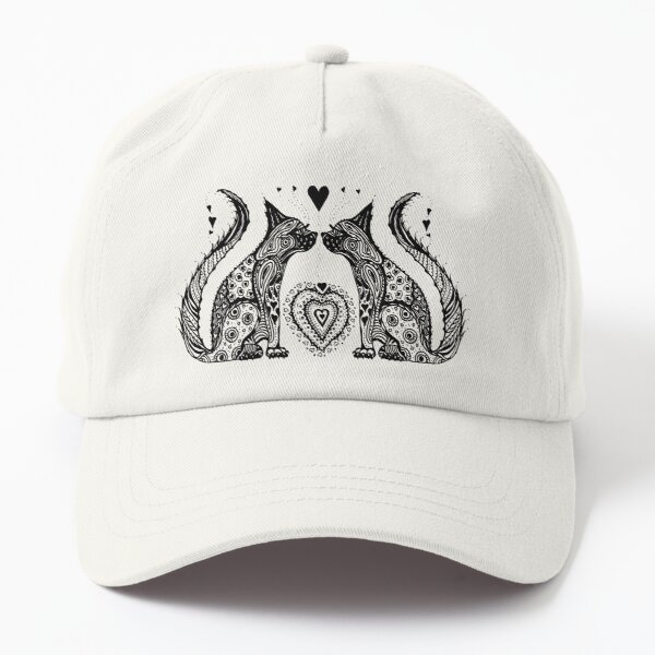 Two Cat Tangle Dad Hat