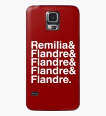 Touhou Four of a Kind (white text) Hülle & Klebefolie für Samsung Galaxy
