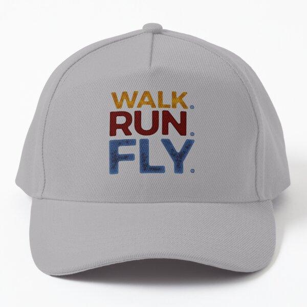 Walk. Run. Fly. - Isaiah 40:31 Baseball Cap