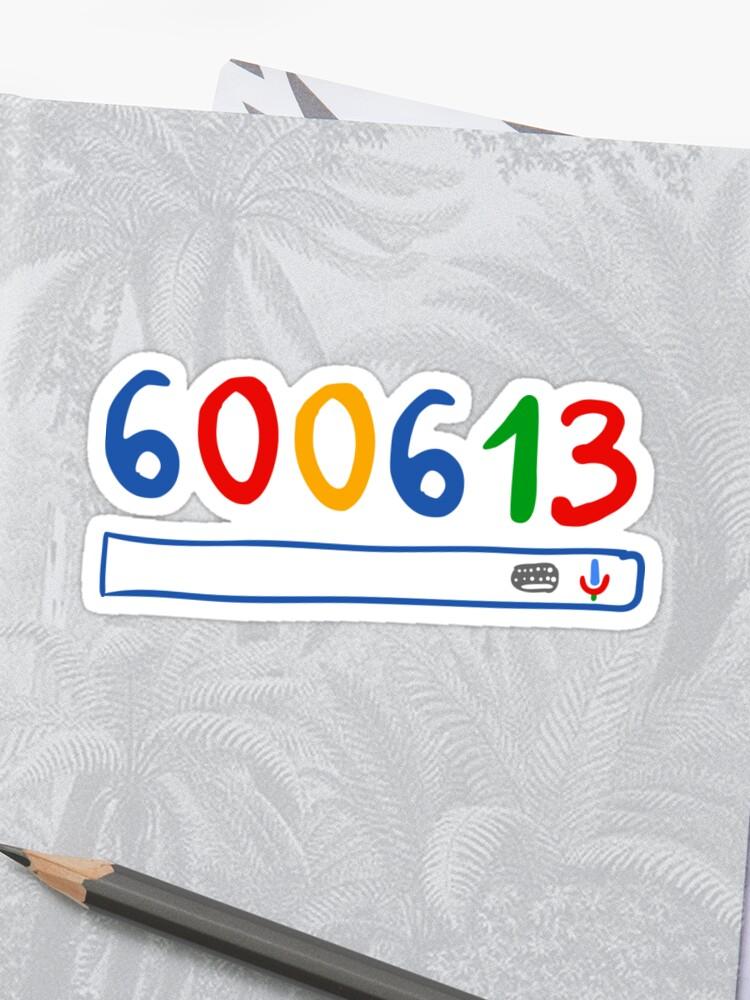 600613 search engine | Sticker