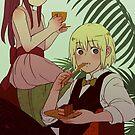 Ren and Ramia by starfleetrambo