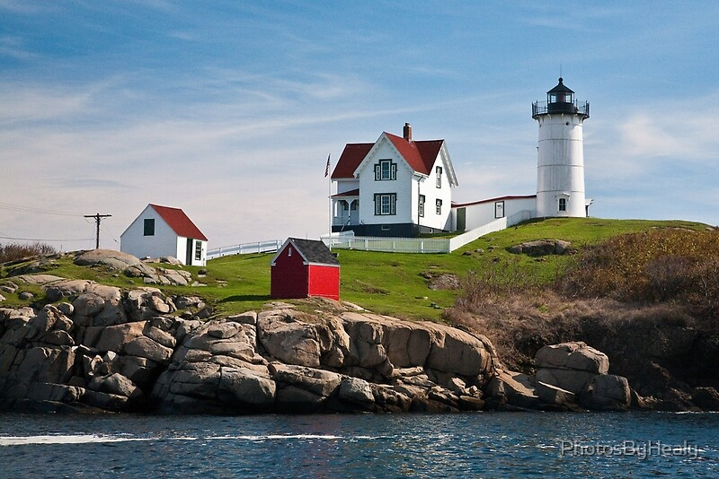 Nubble Light by Photos by Healy