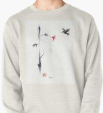Sweetness - Hummingbird & Flower Painting Pullover