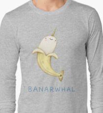 Banarwhal Langarmshirt