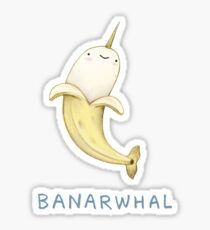Banarwhal Sticker