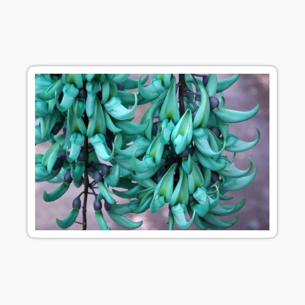 Jade Vine Flower Cluster Sticker
