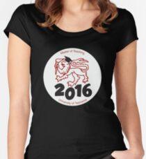 Master of Teaching 2016 UTAS Women's Fitted Scoop T-Shirt