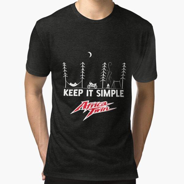 Africa Twin KISS Tri-blend T-Shirt