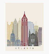 Atlanta skyline poster Photographic Print