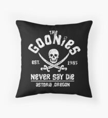 Goonies Throw Pillow