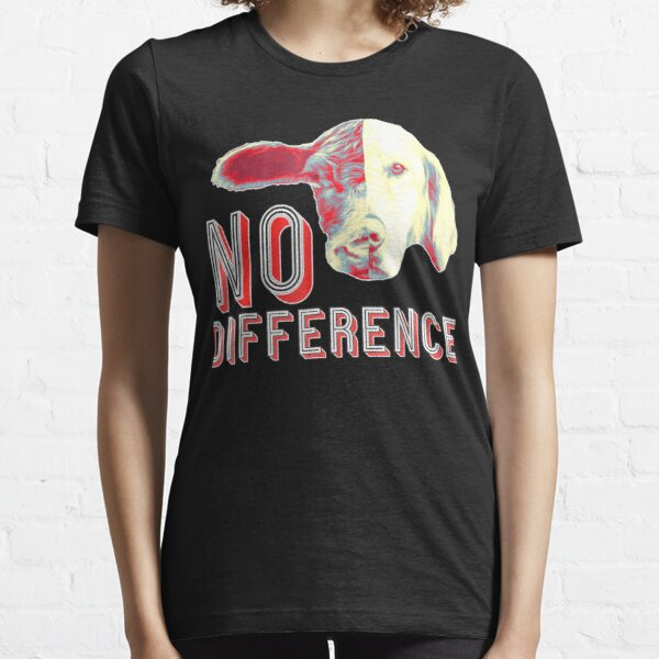 Cows And Dog Vegan Idea Essential T-Shirt