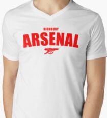 Arsenal Men's V-Neck T-Shirt