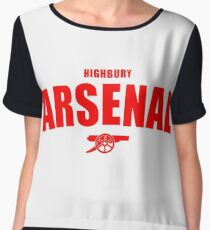 Arsenal Women's Chiffon Top