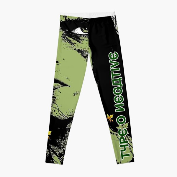 Type O Negative Onetyp Positive Band 2021 The Popular Child's Band Has Long Hair To Show The Rock Style That Is Loved By The Audience Leggings