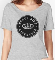 Northside Black Royal Crown Women's Relaxed Fit T-Shirt