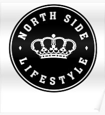 Northside Black Royal Crown Poster