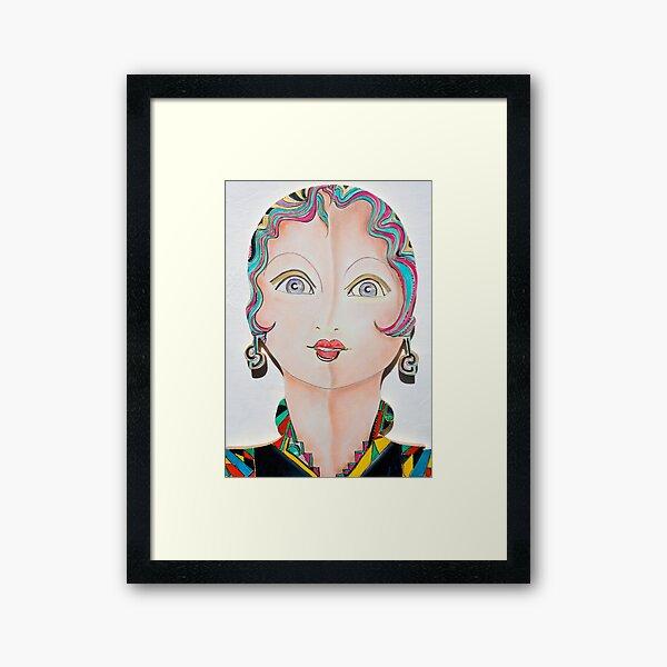 Dolly Dolores Framed Art Print