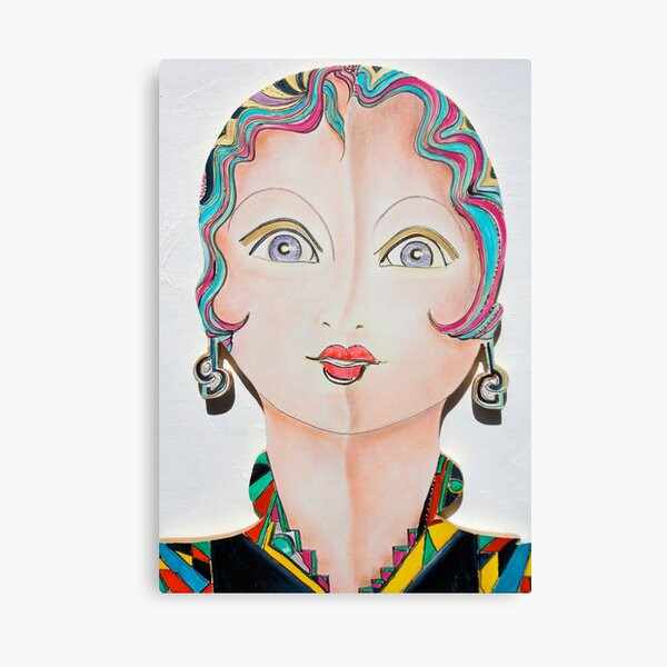 Dolly Dolores Canvas Print
