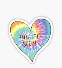 I Heart Nathan Scott - One Tree Hill Sticker