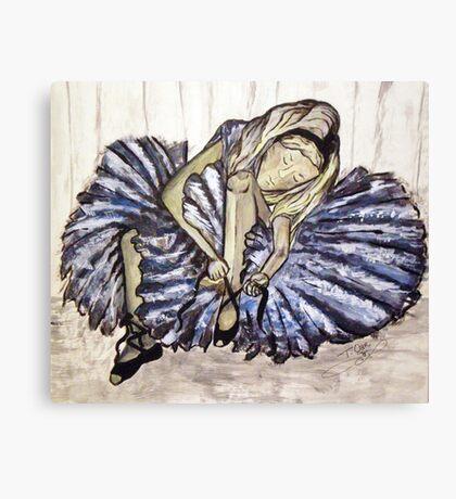 BALLERINAL GIRL Canvas Print