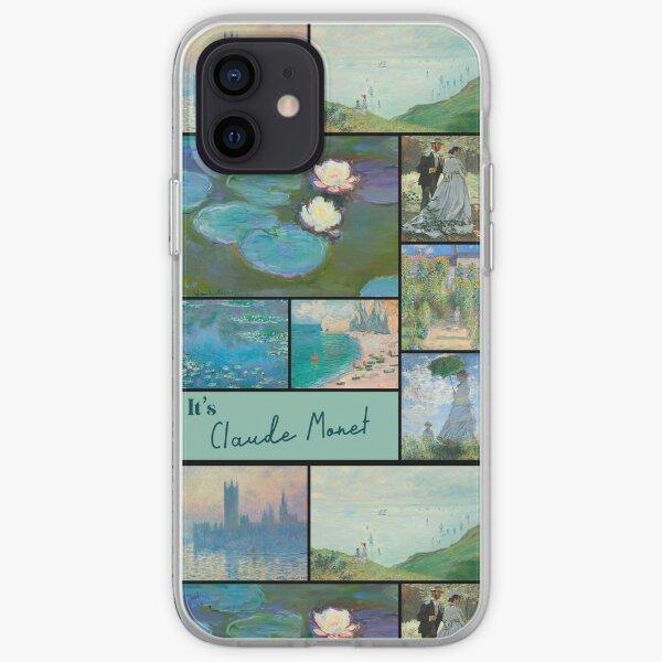 It's Claude Monet Collection - Art iPhone Soft Case