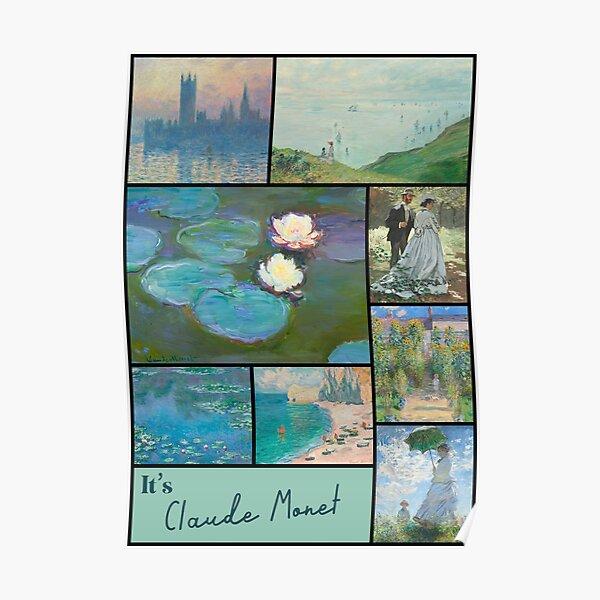 It's Claude Monet Collection - Art Poster