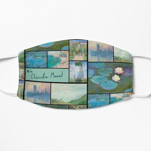 It's Claude Monet Collection - Art Flat Mask