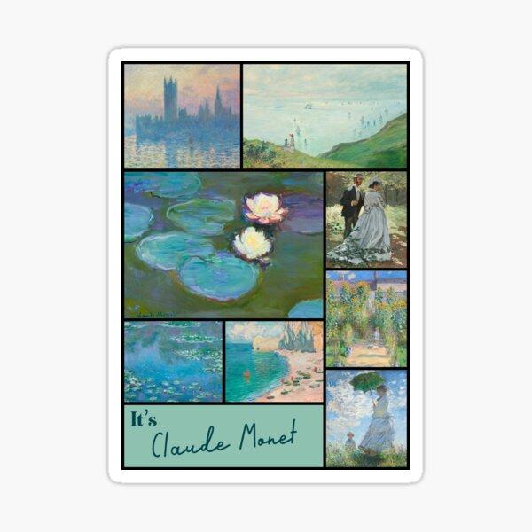 It's Claude Monet Collection - Art Sticker