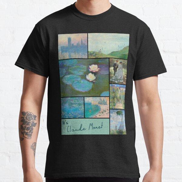 It's Claude Monet Collection - Art Classic T-Shirt