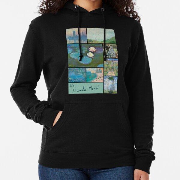 It's Claude Monet Collection - Art Lightweight Hoodie