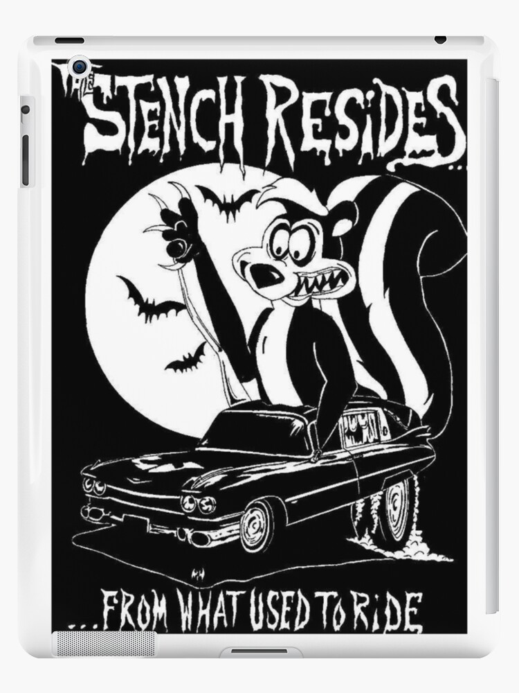 Skunk In A 1959 Cadillac Hearse Ed Roth Inspired Ipad Cases Skins