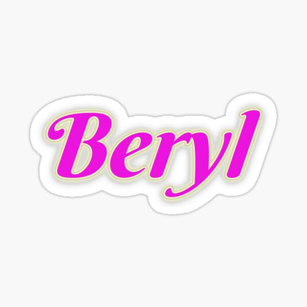 Beryl Sticker