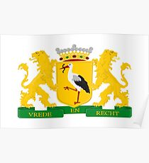 Coat of arms of The Hague Poster