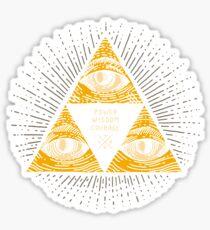 Trilluminati Sticker