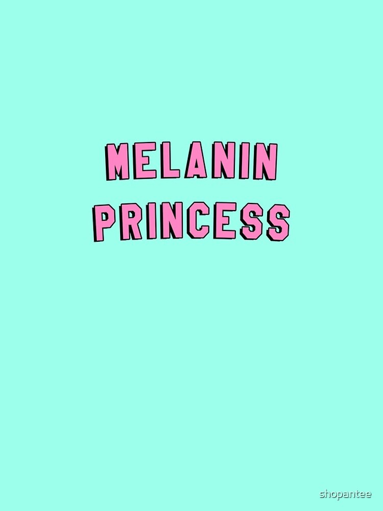 "Melanin Quotes Fascinating Melanin Princess  Black Girl Magic Quote Print"" Iphone Cases"