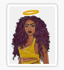 Justine Skye ( Halo) Sticker