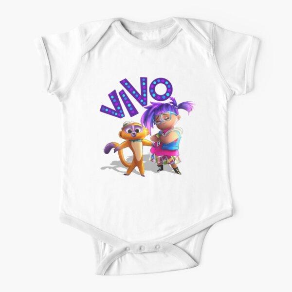 Vivo Movie Short Sleeve Baby One-Piece