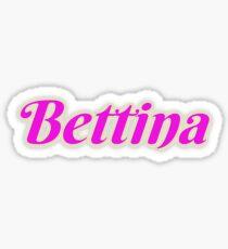 Bettina Sticker