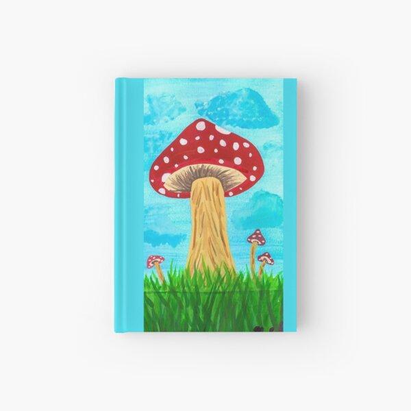 Red Mushroom Hardcover Journal
