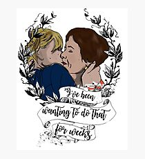 Berena kiss 2.0- in colour Photographic Print