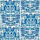 Blue Scandi by TRACEYENGLISH