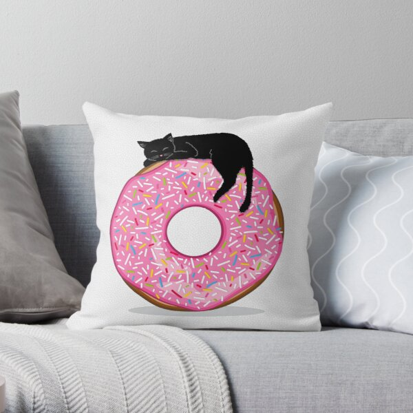Do-nut Disturb Throw Pillow