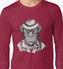 Hipster monkey with hat T-Shirt