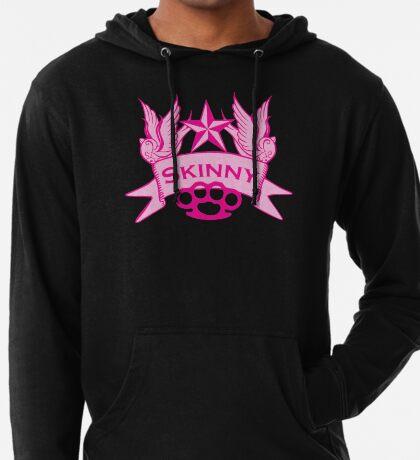 Wisconsin Skinny Pink Swallows Lightweight Hoodie